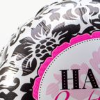 Vorschaubild Ballon Happy Birthday Black and White und Freixenet Semi Seco