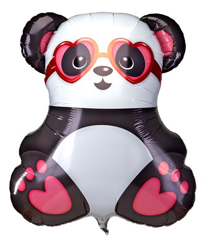 Riesenballon Panda in Love